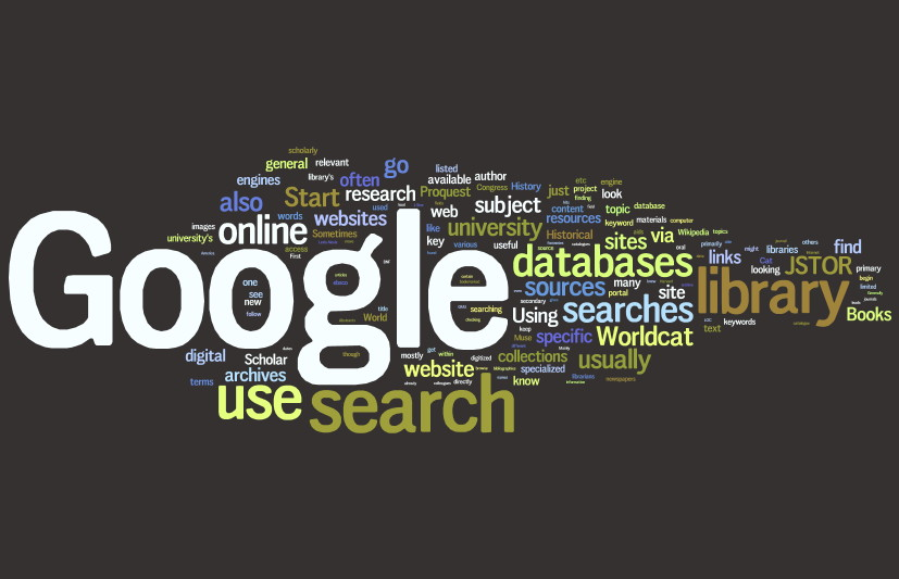 Google word cloud for Zotero
